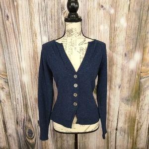 Sundance Catalog Merino Wool Button Cardigan